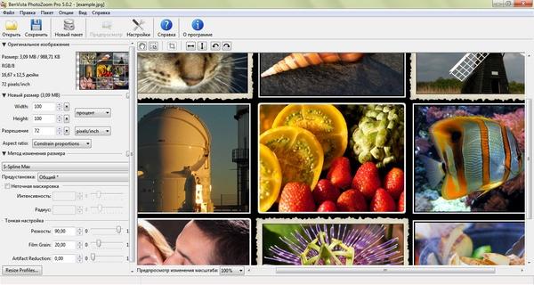 Benvista PhotoZoom Pro + ключ - увеличить фото без потери качества