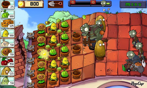 Игра Plants vs. Zombies на русском для Android