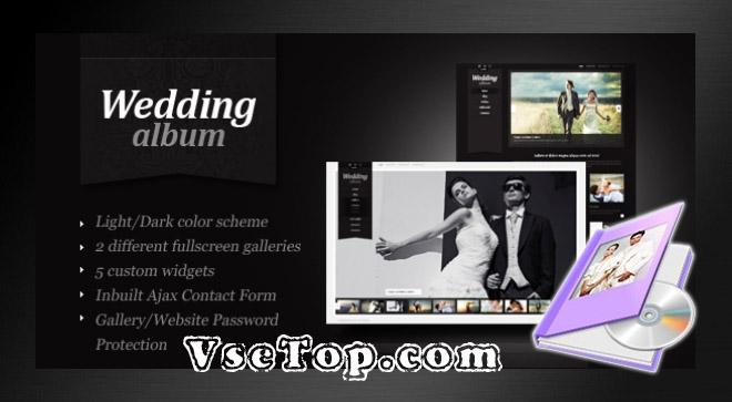 Wedding Album Maker Gold – программа для создания альбомов из фото