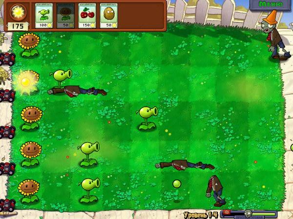 Скачать Plants vs. Zombies на русском для компьютера