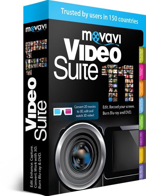 Movavi Video Suite 17 ключ – программа для работы с видео