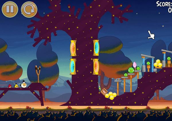 Скачать Angry Birds Seasons на компьютер