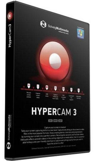HyperCam 5 - запись видео с экрана