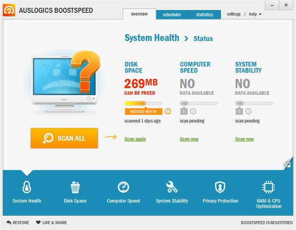 AusLogics BoostSpeed 6 + ключ