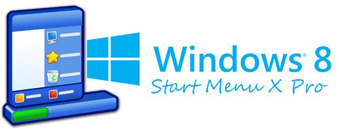 "Start Menu X Pro - меню ""Пуск"" для Windows 8"