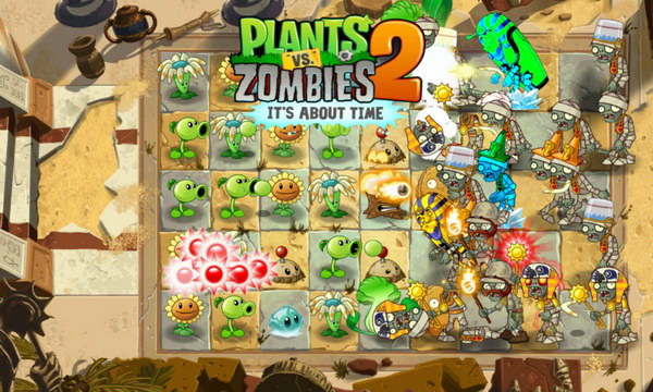 Plants vs. Zombies 2 v2.7.1 (Unlimited Coins) для Android - торрент