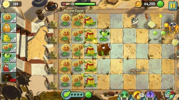 Plants vs. Zombies 2 для компьютера