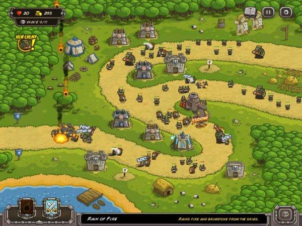 Kingdom rush игру скачать бесплатно