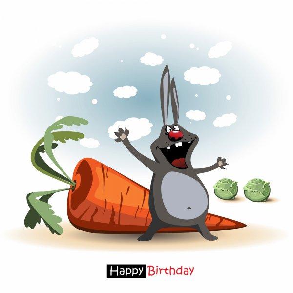 Креативные открытки: поздравление c днем рождения