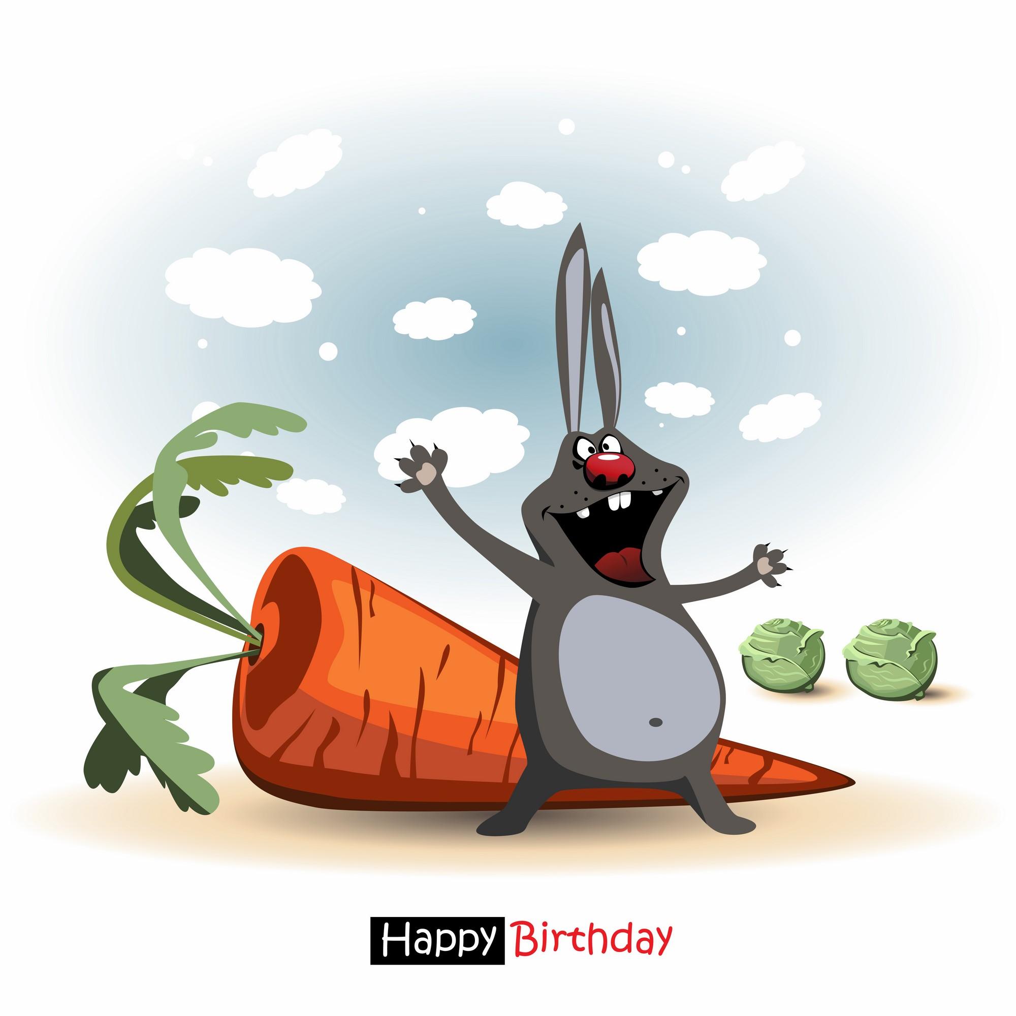 Креативные открытки с днем рождения прикольные