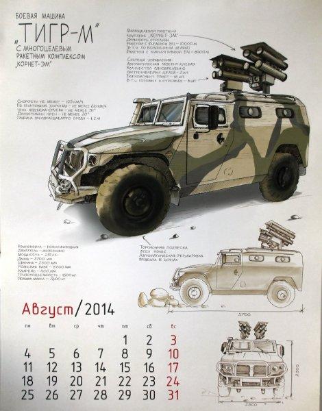 Военная техника России – календарь ВПК на 2014 год