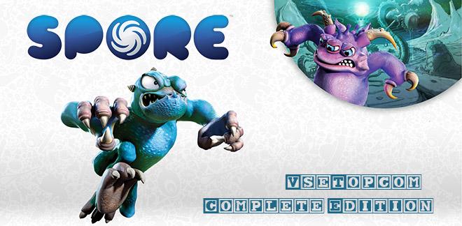 Скачать Spore: Complete Edition – торрент