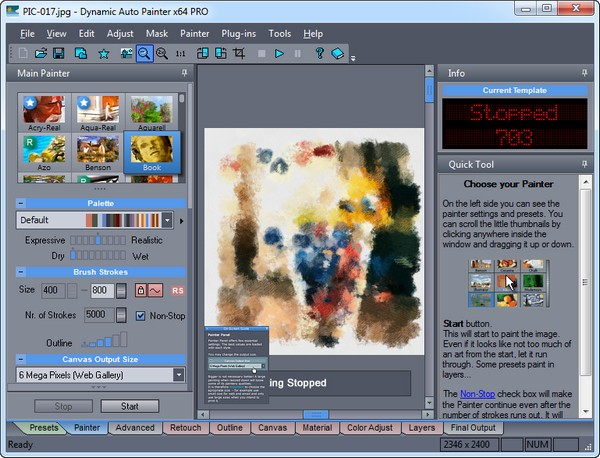 Картина из фото - MediaChance Dynamic Auto Painter PRO 5.1