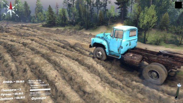 Spintires (2014) PC – торрент