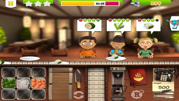 Youda Суши шеф 2 – симулятор ресторана