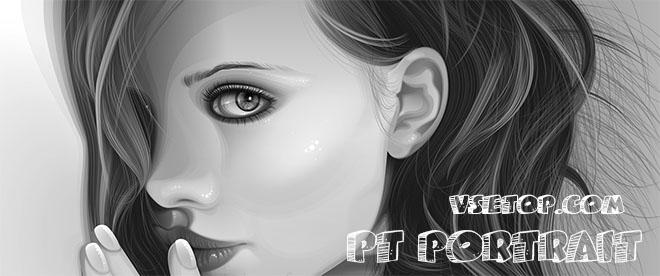 Улучшить лицо на фото - PT Portrait на русском