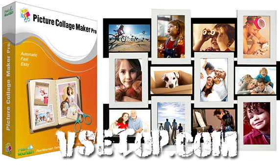 Сделать коллаж из фото: Picture Collage Maker Pro