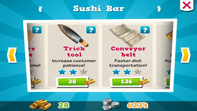 игра шеф суши
