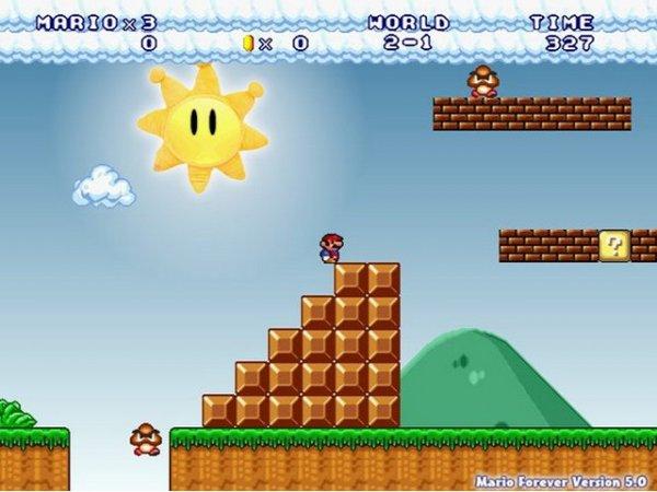 Скачать Super Mario Bros 3: Mario Forever - Супер Марио на компьютер