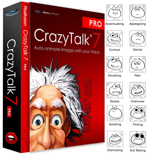 CrazyTalk Pipeline 8.12.3124.1 - оживить фото