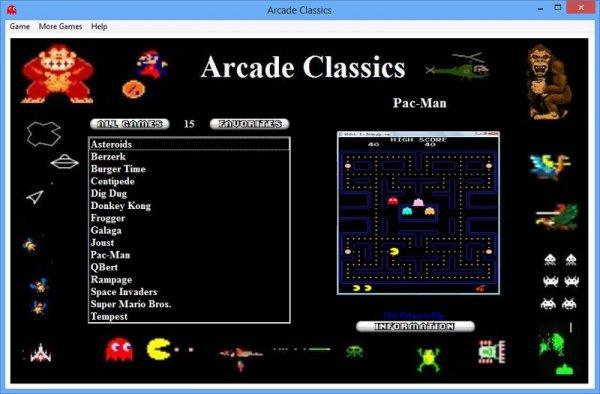 Старые классические игры / Arcade Classics