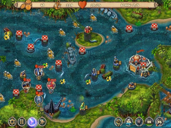 Железное море 2: Защитники границы - игра в жанре Tower Defense