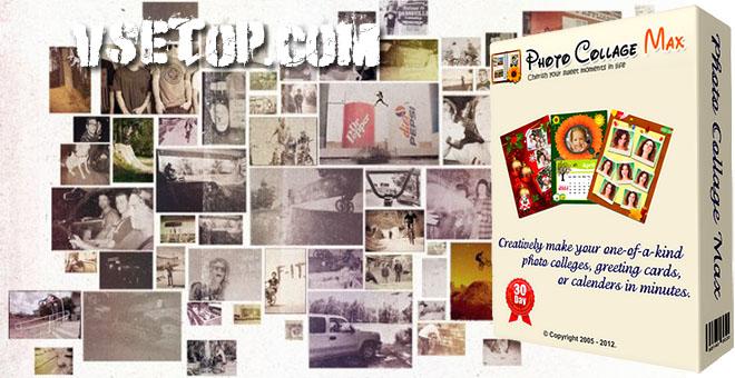 Photo Collage Max – программа на русском для создания фотоколлажей