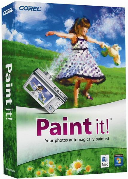 Corel Paint It! на русском – сделать картину из фото