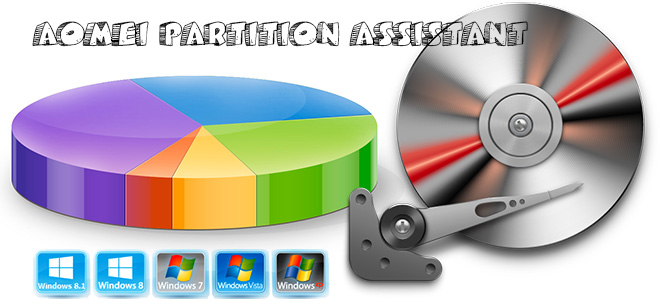AOMEI Partition Assistant Pro - русская версия