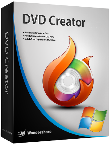 Wondershare DVD Creator + crack