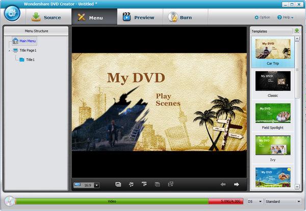 Wondershare DVD Creator + crack