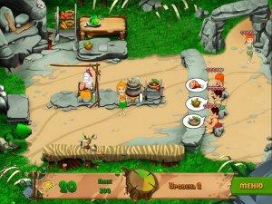 Игра: Кафе каменного века