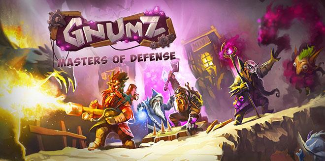 Gnumz: Masters of Defense (2014/ENG) на компьютер