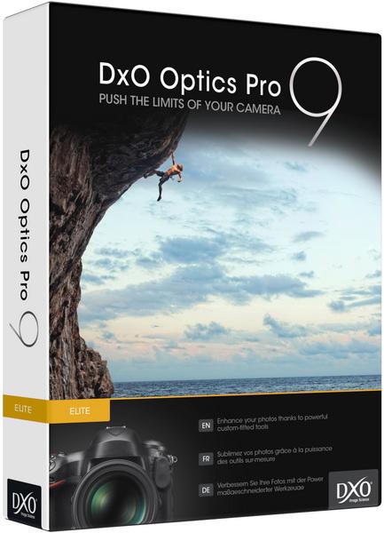DxO Optics Pro 9 на русском – ключ вшит