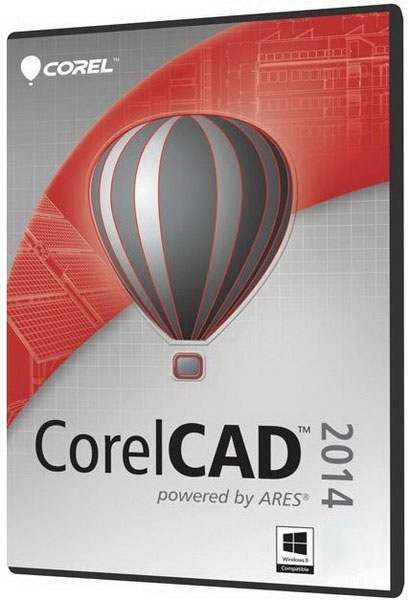 CorelCAD 2014 – ключ вшит