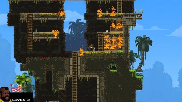 Скачать игру: BroForce - полная версия