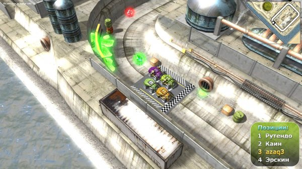Игра: Burning Cars (2014) PC