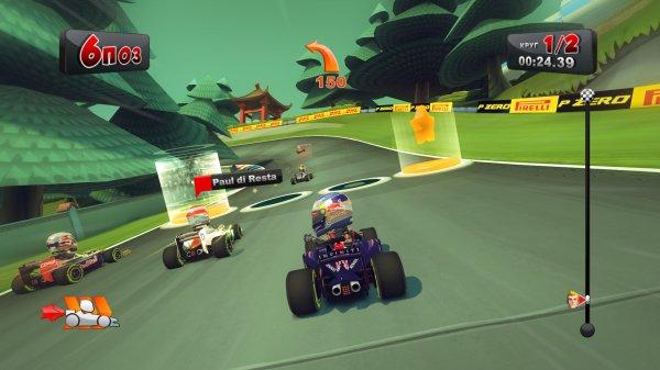 F1 Race Stars + DLC (2012) PC – торрент