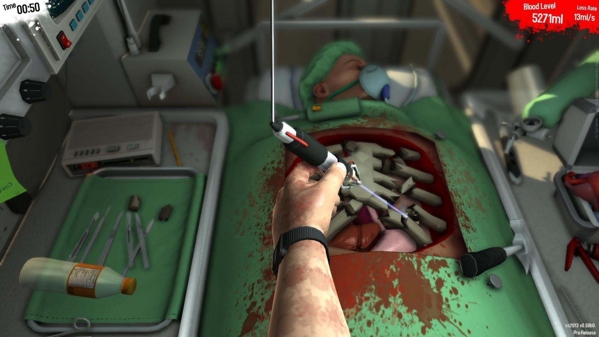 скачать через торрент игру симулятор хирурга