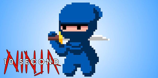 Игра 10 Second Ninja X на русском