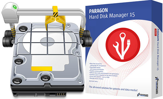 Paragon Hard Disk Manager + BootCD – ключ вшит