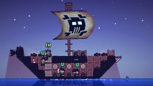 Pixel Piracy (2013) PC - полная версия