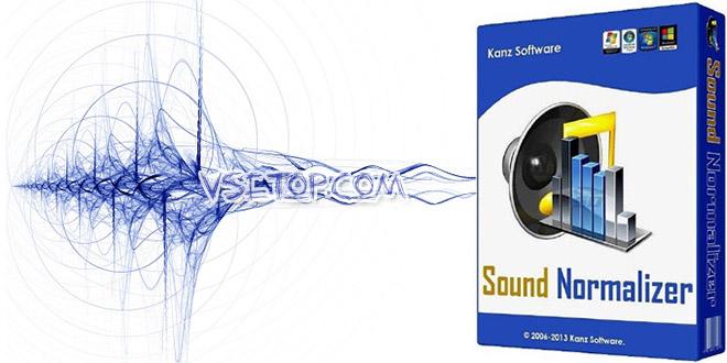 Sound Normalizer + ключ – нормализация звука