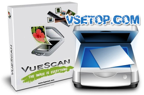 VueScan Pro + x64 и ключ – программа для сканера
