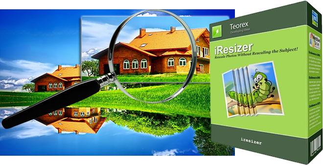 Teorex iResizer + ключ – увеличить отдельные участки фото