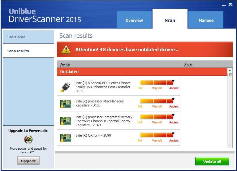 Driver scanner серийный номер