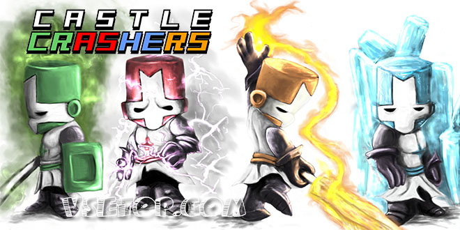 Castle Crashers v2.8 + 3 DLC – на компьютер
