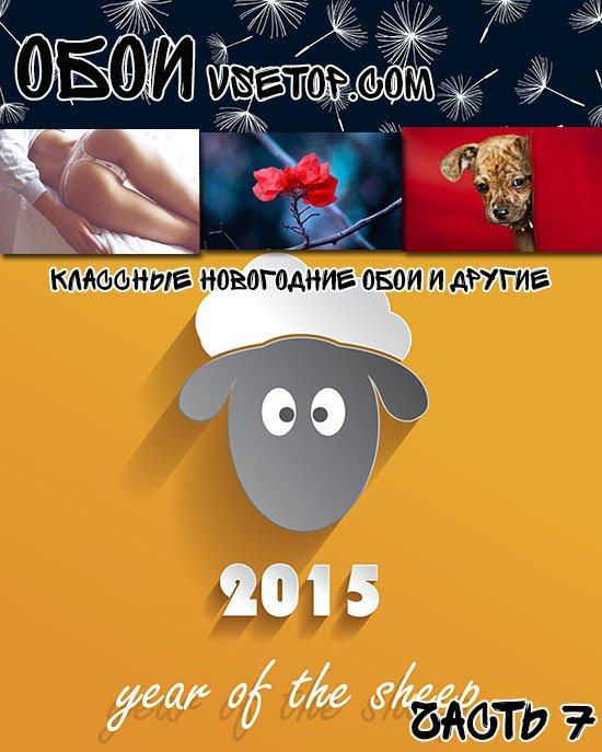 Классные новогодние обои и другие