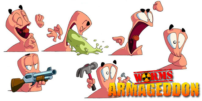 Worms Armageddon – на компьютер