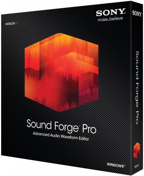 Sony Sound Forge Pro 11 на русском